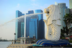 Merlion Stock Photos