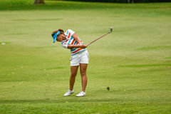 Singapore March 8th 2015: Lydia Ko plays the HSBC Womens Championship Stock Images