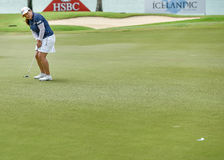 Singapore March 8th 2015: Park InBee wins the HSBC Womens Championship Stock Images