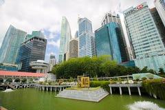 Singapore, Marina Bay Fotografia Stock Libera da Diritti