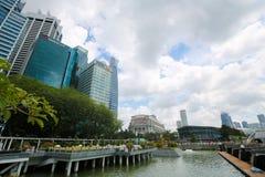 Singapore, Marina Bay Immagini Stock Libere da Diritti