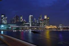 Singapore Marina Bay Stock Photos