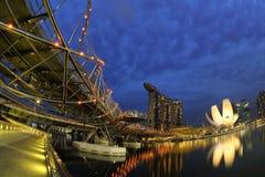 Singapore Marina Bay Stock Image