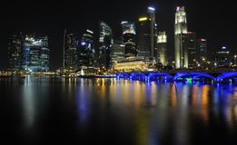 Singapore Marina Bay Royalty Free Stock Image