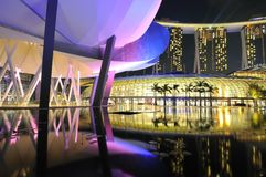 Singapore marina bay Royalty Free Stock Photo