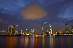 Singapore Marina Bay Stock Image