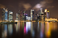 Singapore Marina Bay Stock Photo