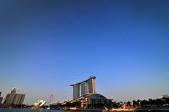 Singapore Marina Bay. Marina Bay area of Singapore Royalty Free Stock Image