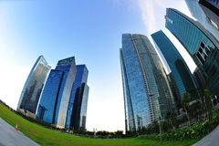 Singapore Marina Bay Financial Centre Royalty Free Stock Image