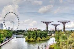 Singapore at Marina Bay Stock Photos
