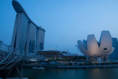 Singapore - Marina Bay panorama Royalty Free Stock Photo