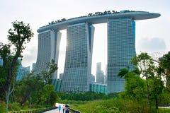 Singapore Marina Bay resort Stock Photos