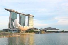 Singapore Marina Bay Sand Immagini Stock Libere da Diritti