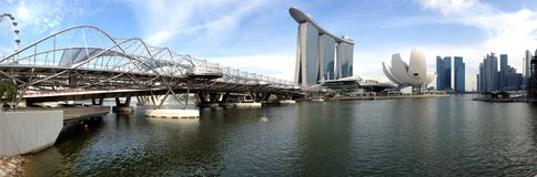 Singapore Marina Bay Sands Stock Photography