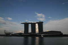 Singapore Marina Bay Sands. Eastphoto, tukuchina,  Singapore Marina Bay Sands Stock Photography