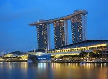 Singapore Marina Bay Sands Hotel Royalty Free Stock Photography