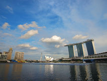 Singapore Marina Bay Sands Hotel Royalty Free Stock Image