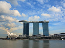Singapore Marina Bay Sands Hotel Stock Photos