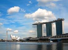 Singapore Marina Bay Sands Hotel Stock Photography