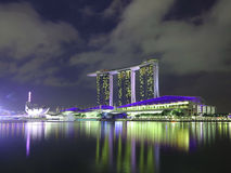 Singapore Marina Bay Sands Hotel Royalty Free Stock Photo