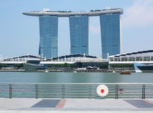 Singapore Marina Bay Sands Hotel Royalty Free Stock Photography