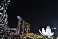 Singapore Marina Bay Sands royalty free stock images