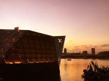 Singapore marina bay Royalty Free Stock Photography