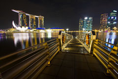 Singapore marina Royalty Free Stock Image