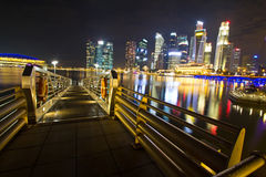 Singapore marina Royalty Free Stock Images