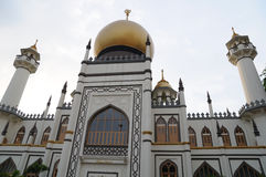 Singapore Masjid Sultan Mosque Stock Photo