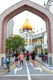 Singapore:Masjid Sultan Singapura Mosque Stock Image