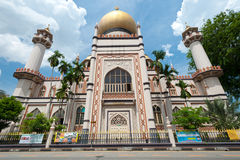 SINGAPORE - MAY 5: Masjid Sultan Mosque is one of the oldest Mos Royalty Free Stock Photo