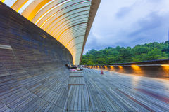 SINGAPORE - MAY 21,2016: Singapore Henderson wave bridge at Moun Stock Photo