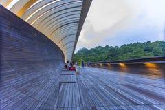 SINGAPORE - MAY 21,2016: Singapore Henderson wave bridge at Moun Royalty Free Stock Photography