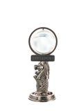 Singapore Mer-Lion souvenir on white background Stock Photography