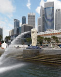 Singapore - The Merlion Stock Images