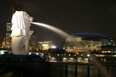 Singapore Merlion Immagine Stock