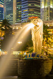 Singapore Merlion Fotografie Stock