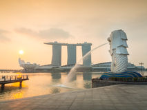 Singapore Merlion. Royalty Free Stock Photos
