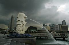 Singapore Merlion imagem de stock royalty free