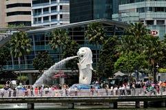 Singapore Merlion Park Stock Photography