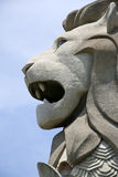 Singapore merlion sentosa island landmark Stock Photo