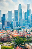 Singapore metropolis Stock Photography