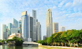Singapore metropolis Royalty Free Stock Images