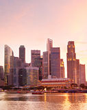 Singapore metropolitan Royalty Free Stock Photography