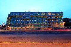 Free Singapore : Mica Building In The Evening Stock Images - 56495144