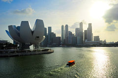 Singapore modern architecture Stock Images