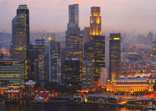Singapore modern architecture Stock Photo