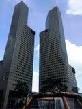 Singapore Modern Buildings Stock Image