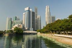 Singapore in modo bello verde Fotografia Stock Libera da Diritti